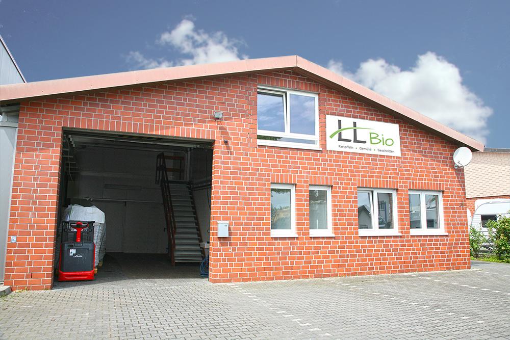 Der moderne Verarbeitungsbetrieb der LL Bio GmbH
